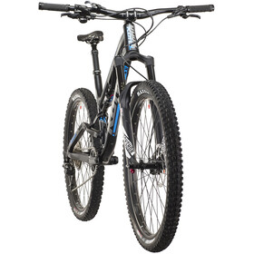 Kona Process Deluxe 134A matt black/gloss silver/blue